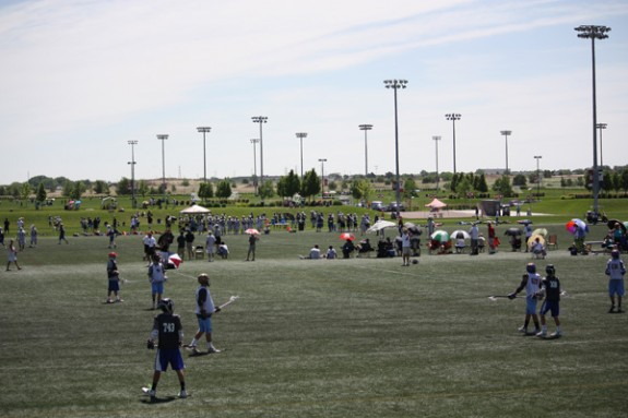 Denver Lacrosse Team Camp facility