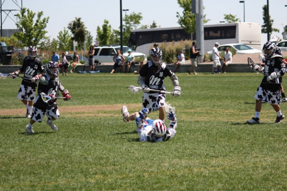 Denver Lacrosse Team Camp Milkmen vs. Cherry Creek