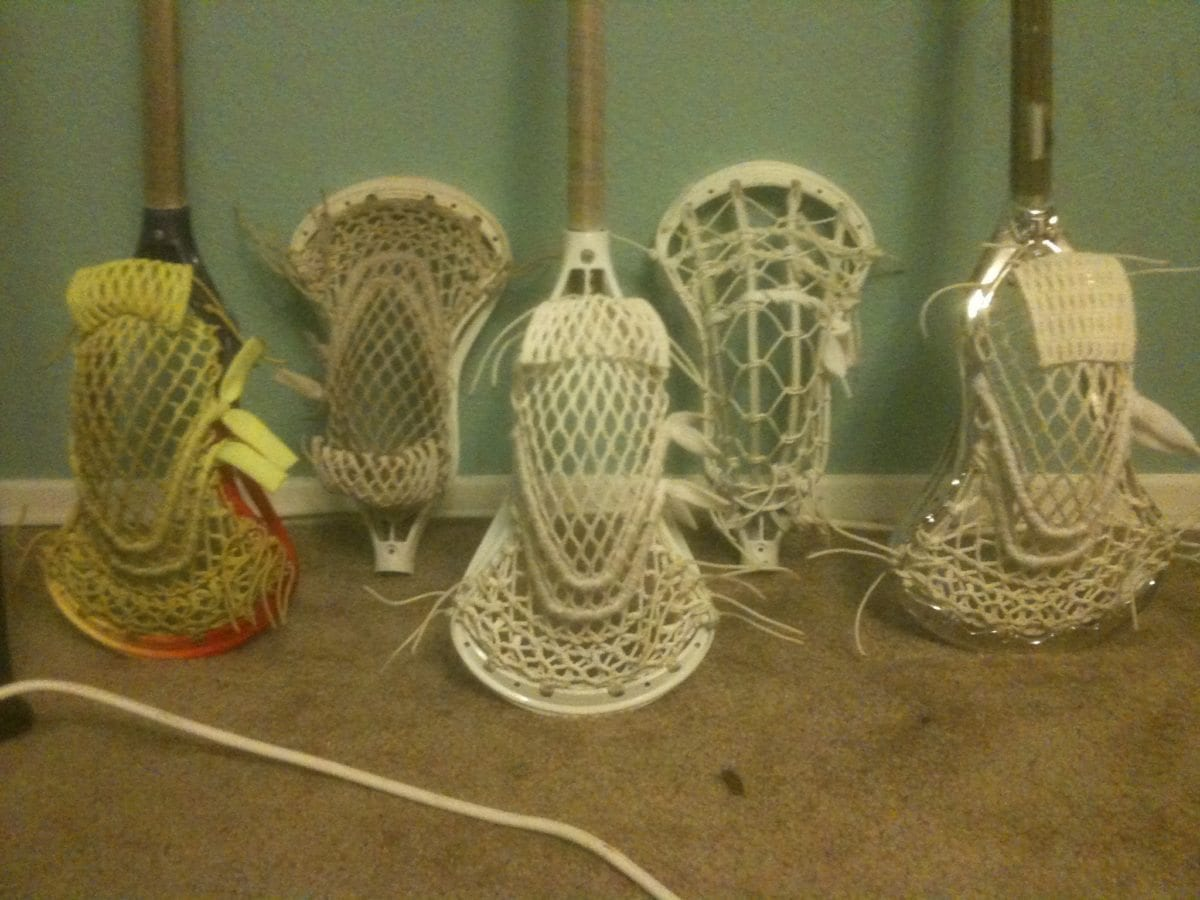 Top shlef dye and string job lacrosse lax
