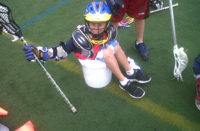 Maximum Lacrosse Camper in a bucket