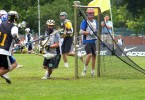 -California Gold Lacrosse Camps gold goal pipes
