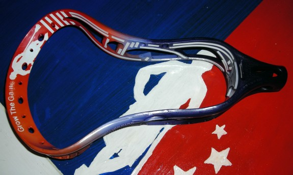 LaxAllStars Grow The Game lacrosse dye