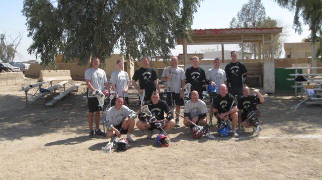US Military Desert Lacrosse