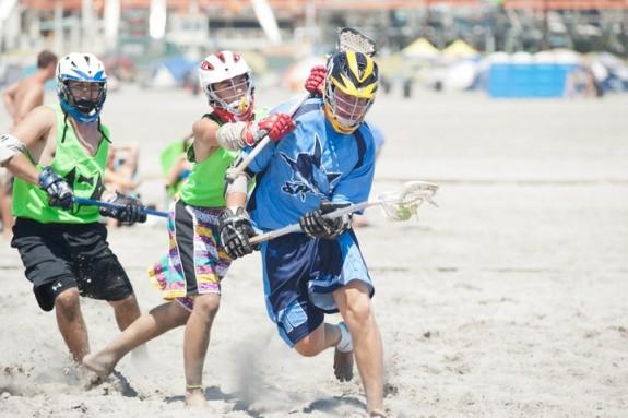LaxAllsharks beach lacrosse
