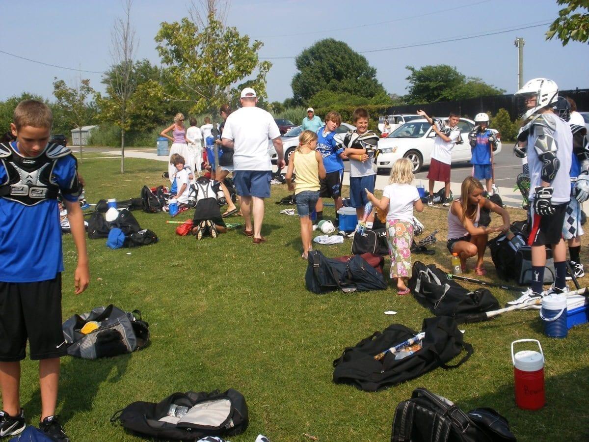 lacrosse camp field