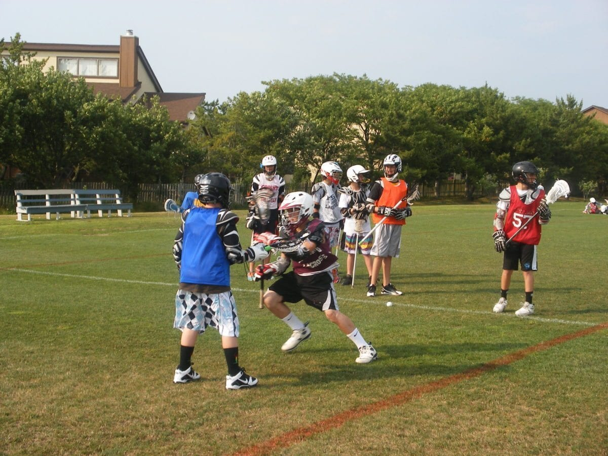 Dodge hard lacrosse camp