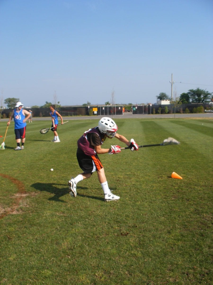 shot speed lacrosse lax camp