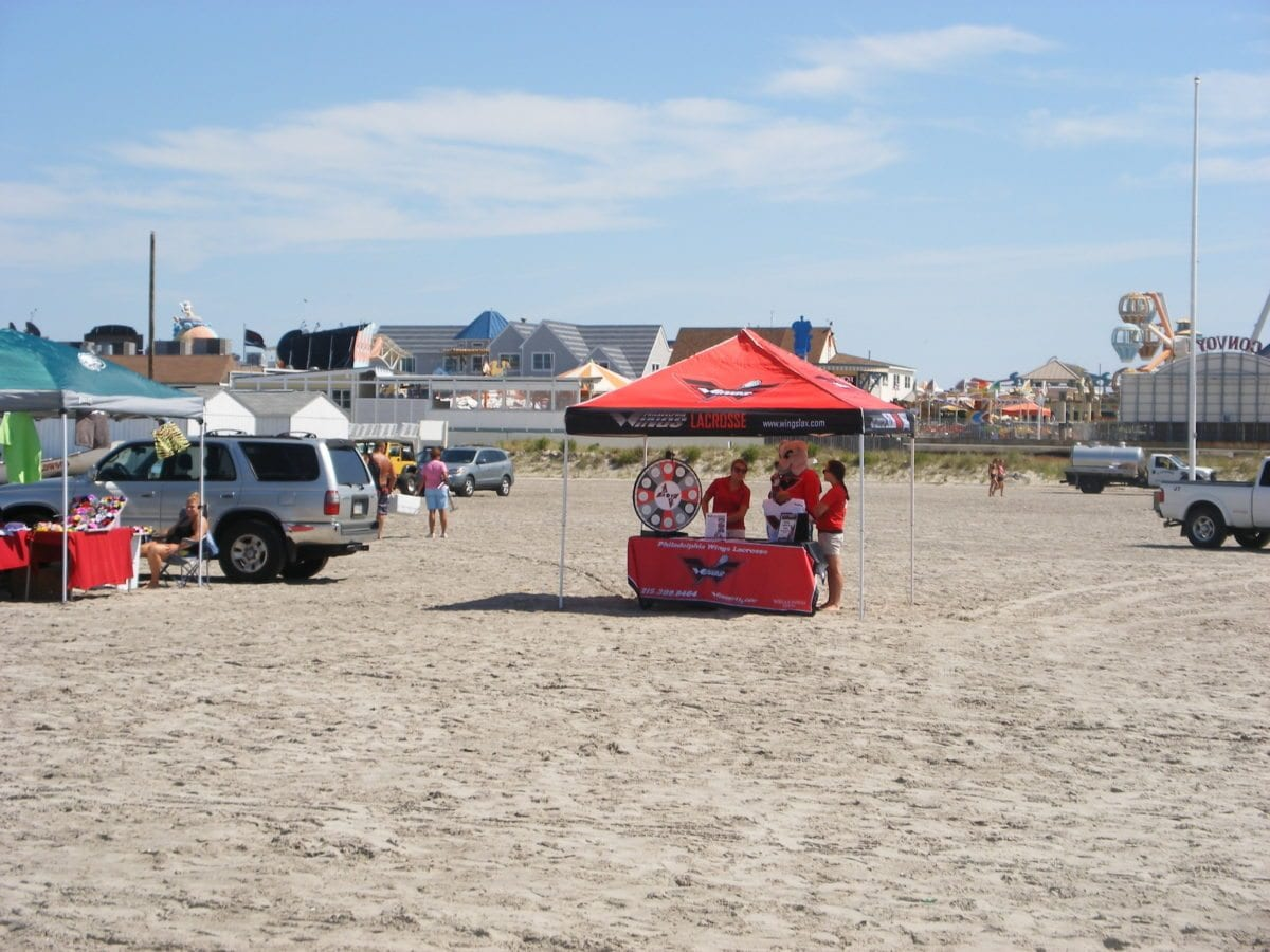 Wings Beach Lacrosse Tent