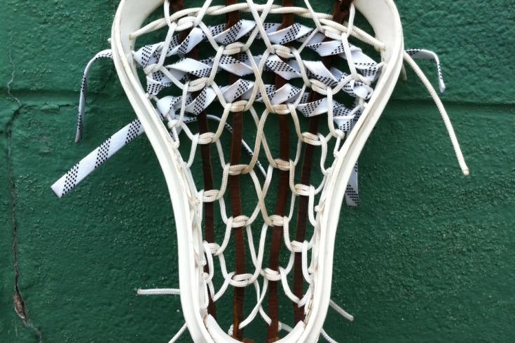 traditional strung Excalibur STX lacrosse
