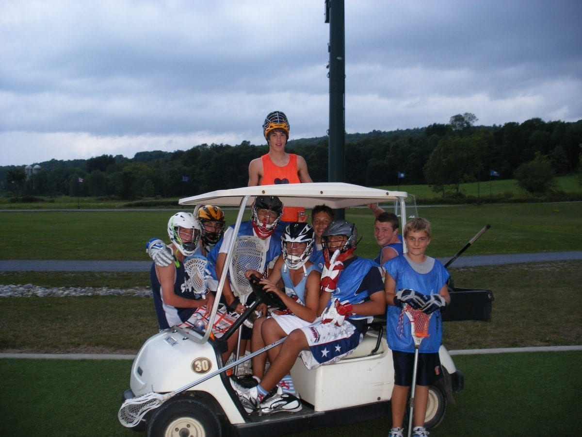 GOlden goal tournament park ProLax Camps clown car