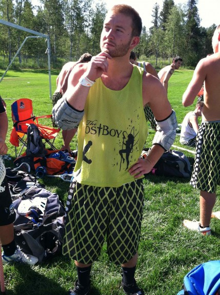 Lost Boyz Lacrosse uniforms McCall