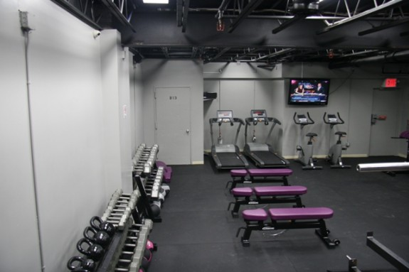 The ASA College Weight Room