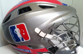 LAS Silver lacrosse cascade CPRO7 lax helmet LAxAllStars.com