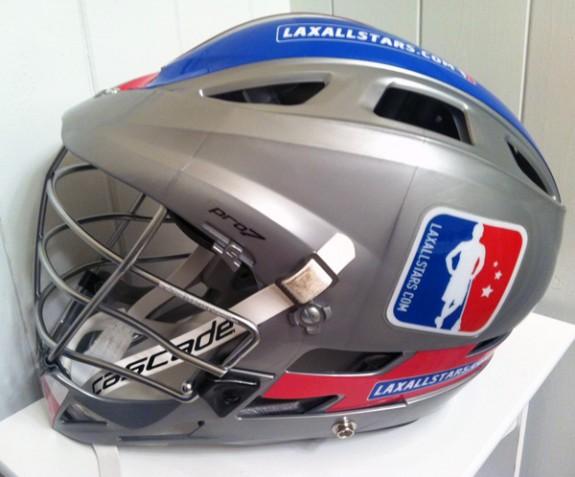 LaxAllstars.com custom lacrosse helmet cascade CPro7 lax