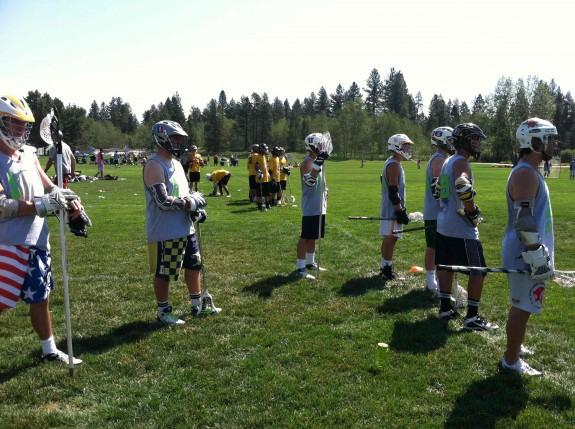 Team LAS laxallstars.com lacrosse McCall Sideline