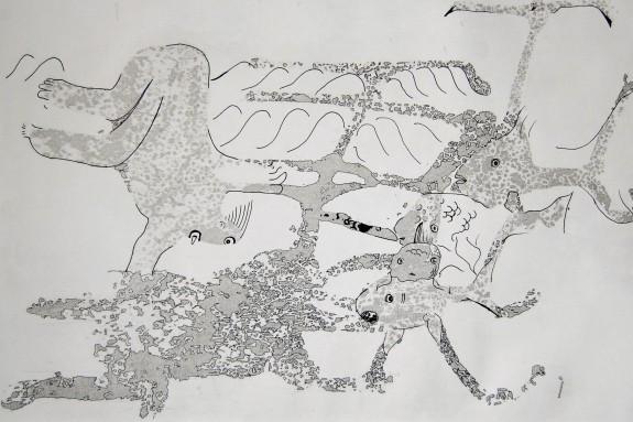 Rachel Cohen Connor Wilson art work lacrosse