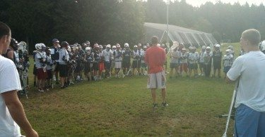 Coach Chase on the Hamster Drill.