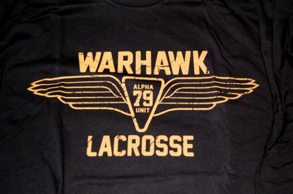 Warhawk Lacrosse Alpha Unit 79 Lax T-shirt