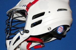 White out lacrosse helmet lax lid