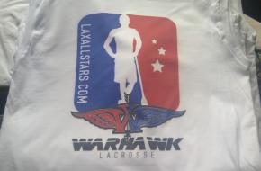 Citylax LaxAllStars Warhawk lacrosse uniforms lax