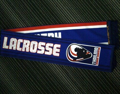 Thailand Lacrosse Scarf