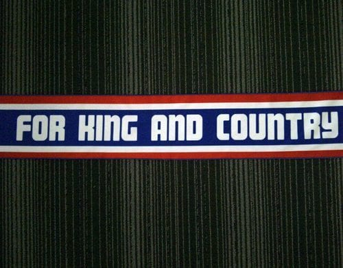 "TLA ""King and Country"" Scarf"