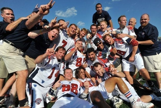 2011 MLL champs - Boston Cannons