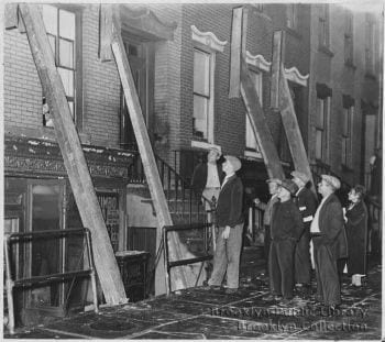 A photo from the 1884 NYC Earthquake