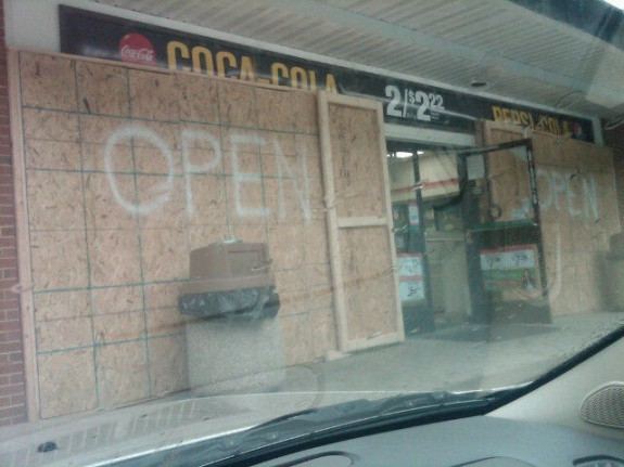 Annapolis, MD store before Irene