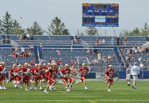 Denver Pioneers lacrosse wins over Hopkins ncaa lax