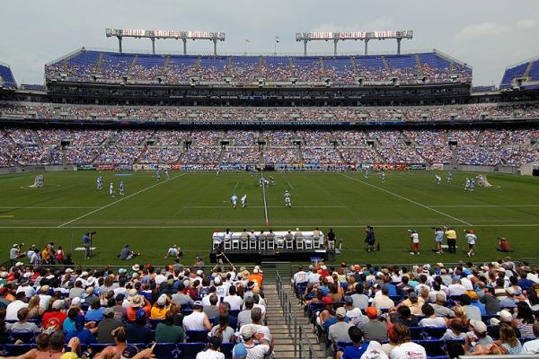 lacrosse game fans attendance
