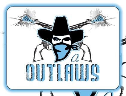 Chicago Outlaws logo MILA lacrosse