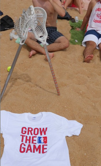 Grow The Game beacn spain lacrosse