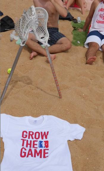 Grow The Game beacn spain lacrosse