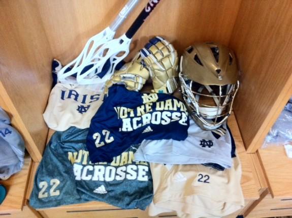Notre Dame Lacrosse Gear