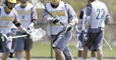 Siena Fall Ball lacrosse MAZZONE