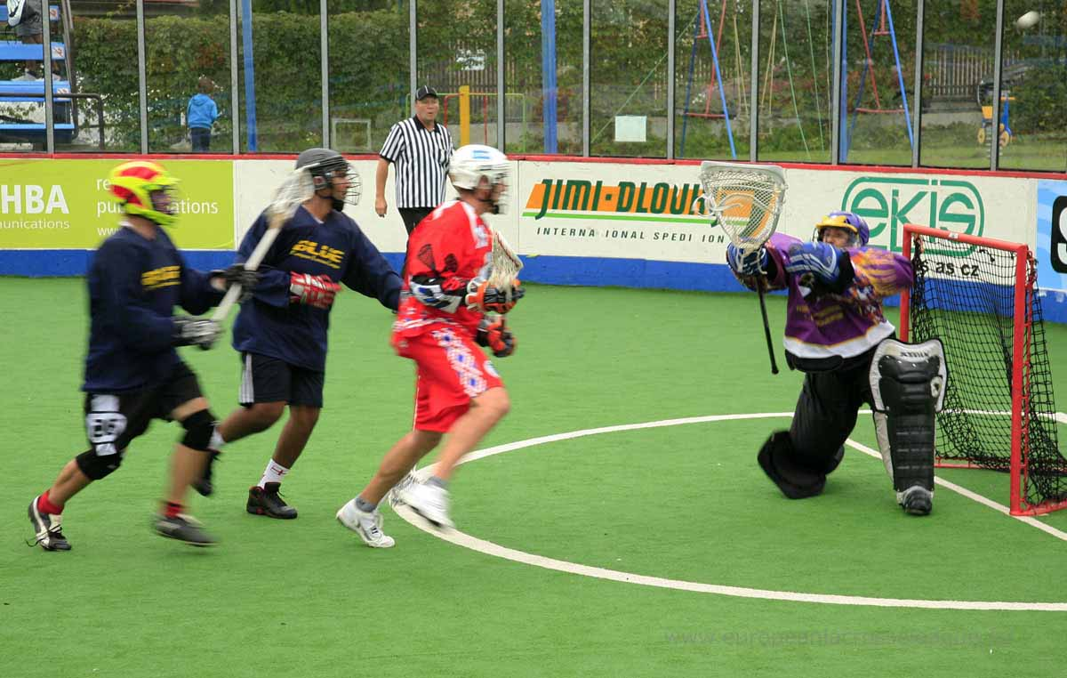 European Lacrosse League ELL box lax