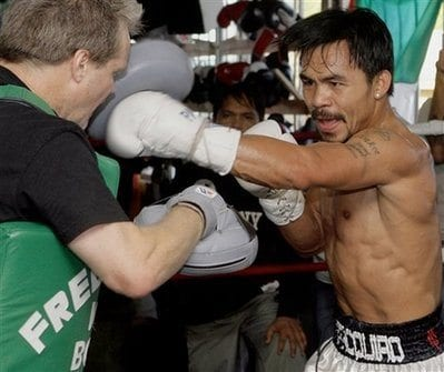Manny Pacquiao Boxing
