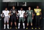 Oregon football uniforms