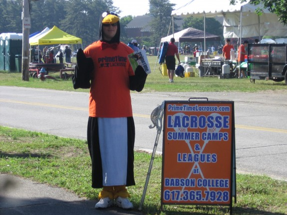PrimeTime Lacrosse Power Penguin suit