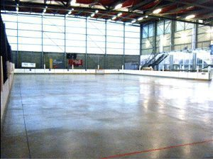 Box lacrosse arena in Lille France