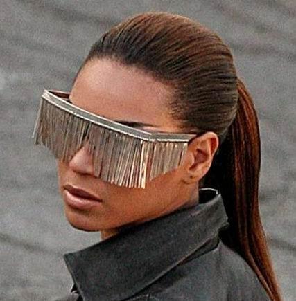 2.Tasseled-Sunglasses Blind Item