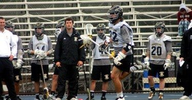 Dominican University Penguins lacrosse scrimmage