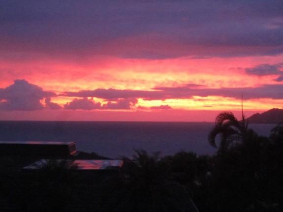 Hawaii Lacrosse sunset