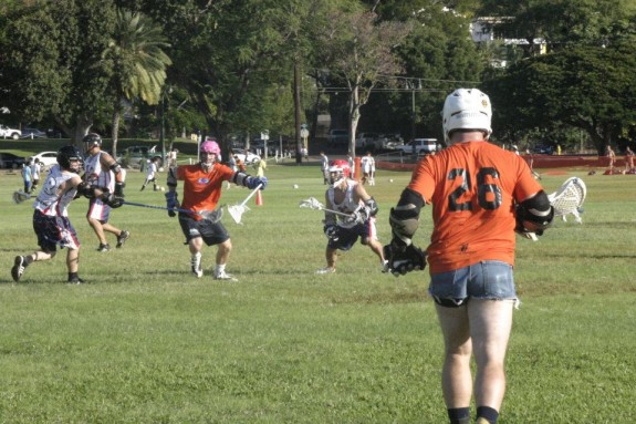 Hawaii Lacrosse jorts