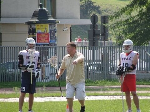 Poland Polska Lacrosse lakros Patrick Crann