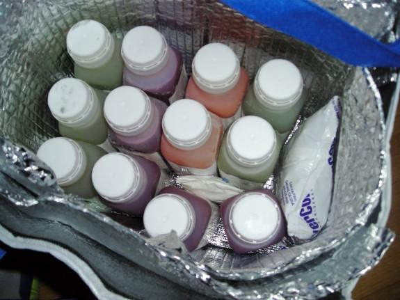 Life Juice fridge bag