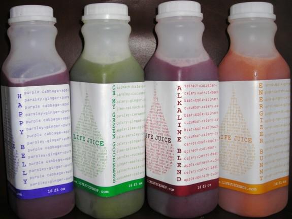 Life Juice 4 flavors