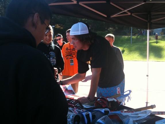 Maverik lacrosse tent san francisco