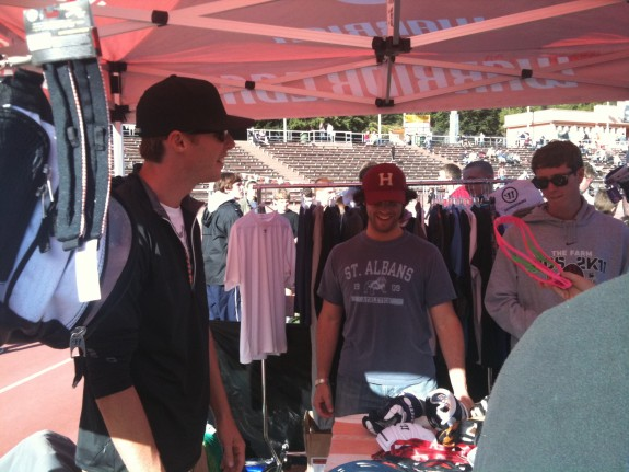 Lorne Smith from Warrior Lacrosse was there too!